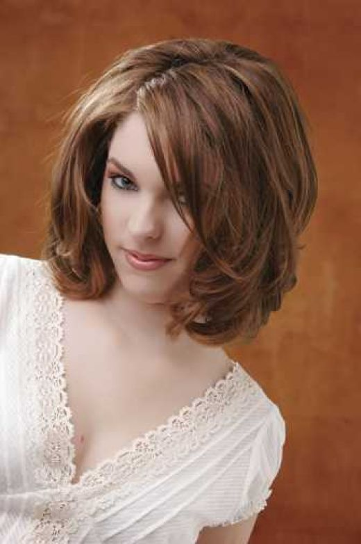 Medium Hairstyles For Thick Hair   Beautiful Hairstyles