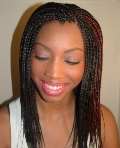 Micro Braid Hairstyles For Black Women
