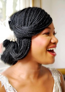 Micro Braid Hairstyles Pictures