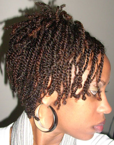 Simple Twist Styles For Natural Hair : Natural hairstyles for black women beautiful
