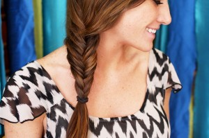 Pictures of Fishtail Braids Hairstyles