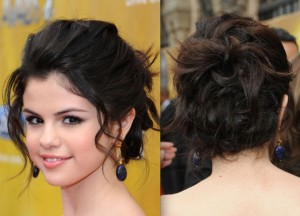 Pictures of Messy Updos Hairstyles