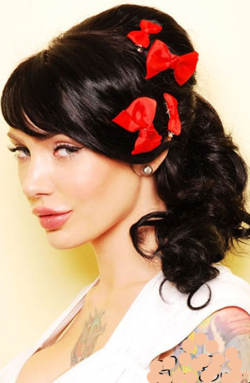 pin up styles for long hair pin up hairstyles for hair beautiful hairstyles 6204 | Pin Up Hairstyles For Long Hair Pictures