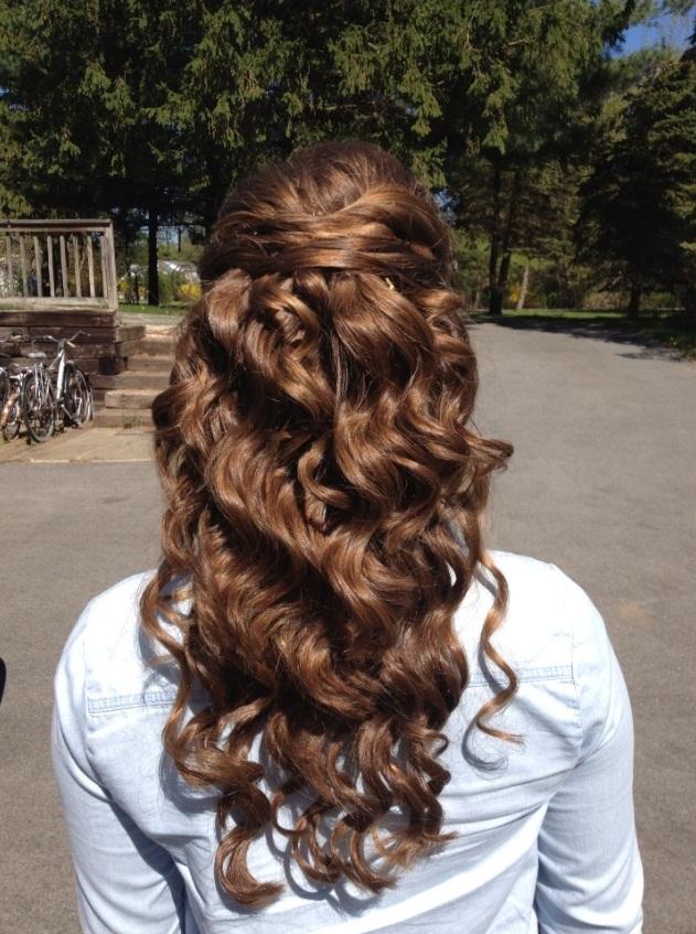 Awe Inspiring Hairstyles For Prom Half Up Half Down Kcbler Com Short Hairstyles Gunalazisus