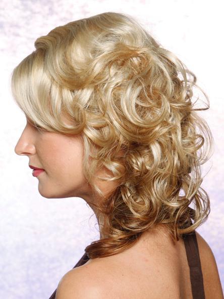 Tremendous Fancy Hairstyles For Medium Curly Hair Short Hairstyles Gunalazisus