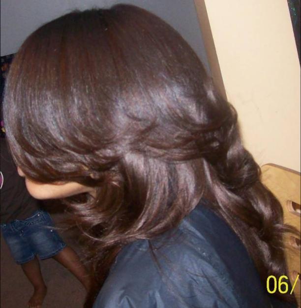 Black Hair Sew in Weave Styles