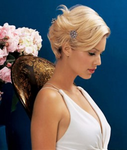 Short Hairstyles For Brides