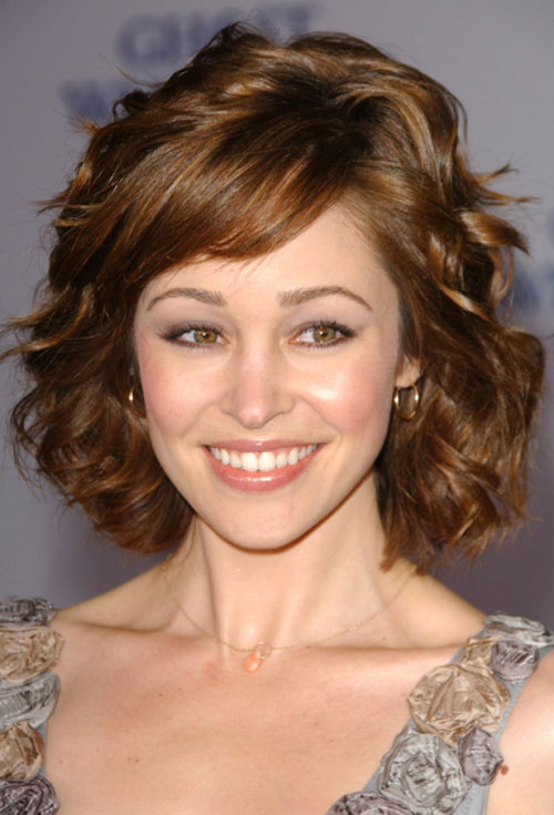 Amazing 2013 Short Hairstyles For Thick Wavy Hair Short Wavy Haircuts For
