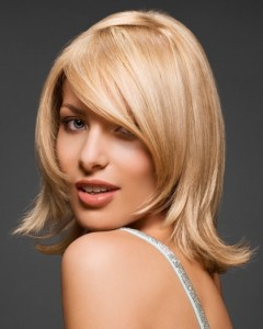 Shoulder Length Straight Hairstyles