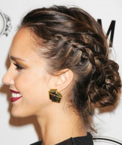 Side Braid Hairstyles With Curls