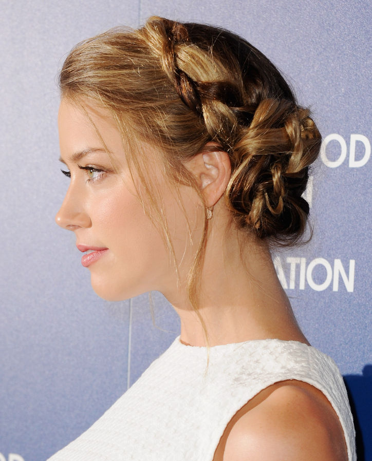 Side Braids Hairdo 90