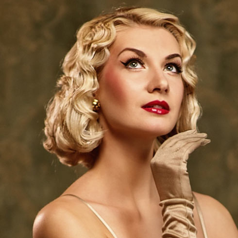 Vintage Hairstyles For Short Hair Beautiful Hairstyles - Classic vintage hairstyle