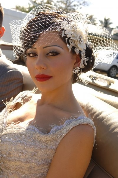 Excellent Vintage Wedding Hairstyles Wedding Day Photos Of Wedding Short Hairstyles Gunalazisus