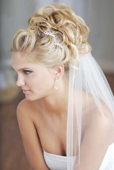 Prime Wedding Hairstyles With Veil Beautiful Hairstyles Short Hairstyles Gunalazisus