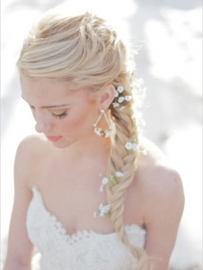 Wedding Hairstyles Fishtail Braid