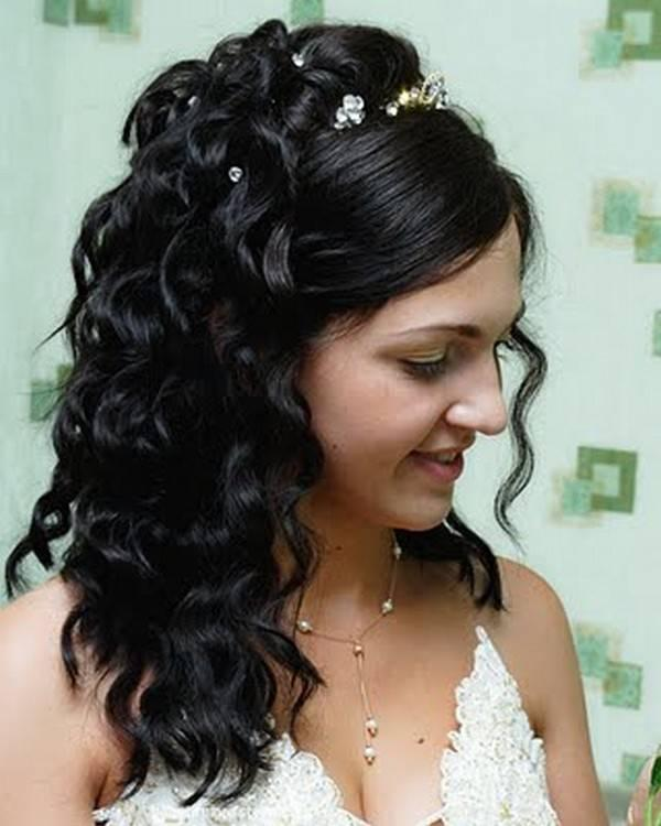 Wedding Hairstyles For Long Hair Half Up Half Down