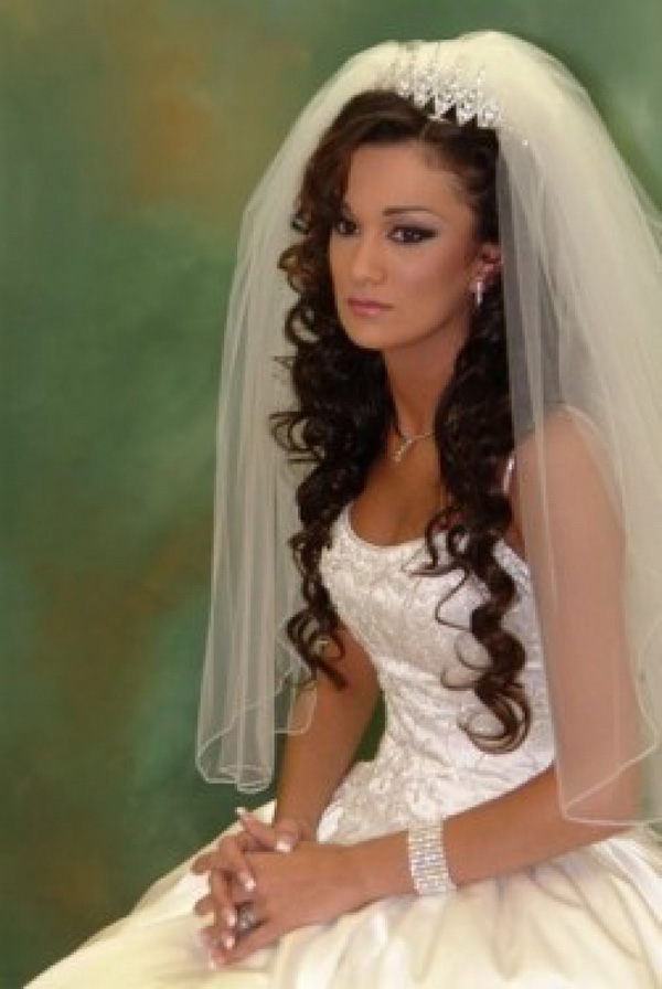 29 impressive wedding hairstyles for long hair with veil wodip excellent share on facebook share on twitter share on pinterest 0shares share on facebook share on twitter share on pinterest 0shares wedding hairstyles junglespirit Choice Image