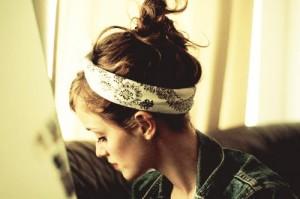 Bandana Hairstyles For Girls
