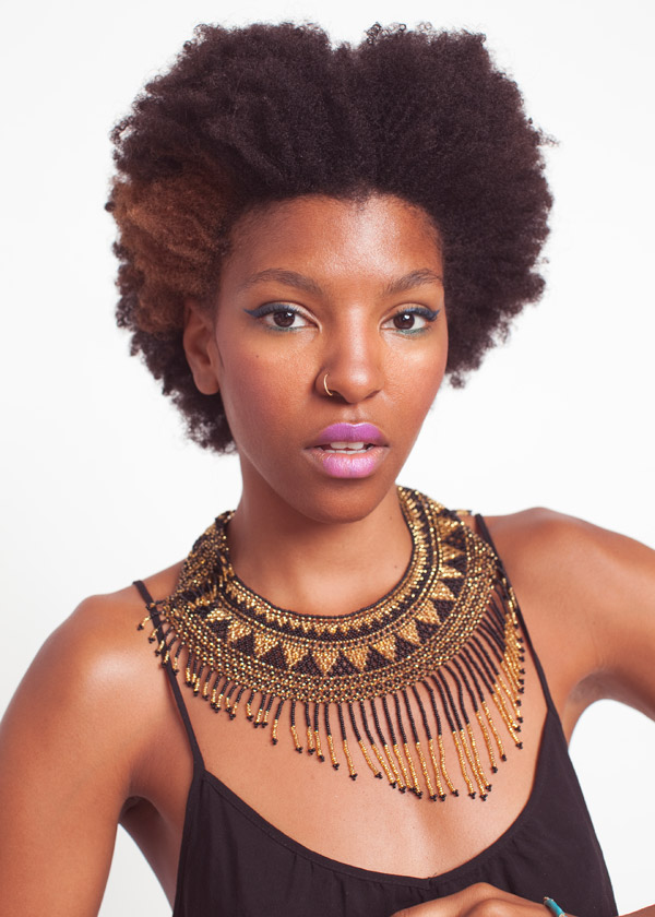 Afro Hairstyles Beautiful