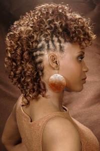 Black Braided Mohawk Hairstyles