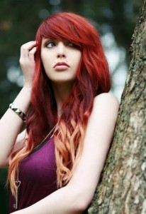 Blonde and Red Hairstyles