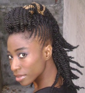 Braided Mohawk Hairstyles For Black Women Pictures