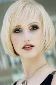 Chin Length Hairstyles With Bangs