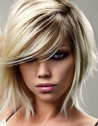 Frisuren blond und braun