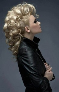Curly Mohawk Hairstyles Picture