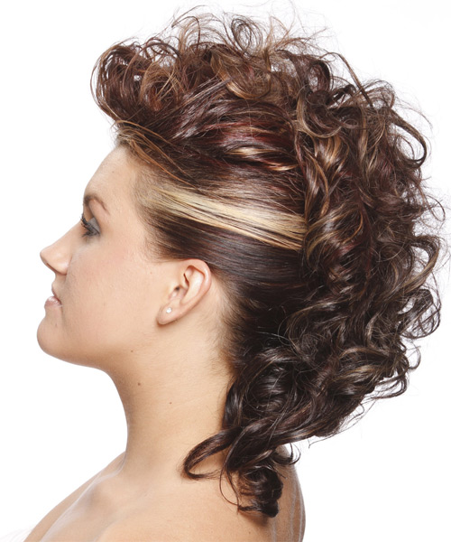 curly mohawk hairstyles beautiful hairstyles