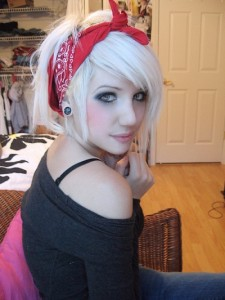 Cute Hairstyles With Bandanas