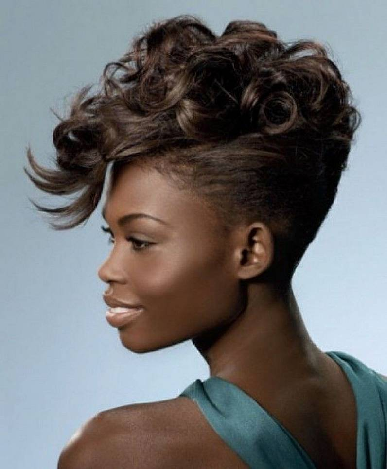 Enjoyable Black Girl Mohawk Haircut Dpsc Tk Short Hairstyles For Black Women Fulllsitofus