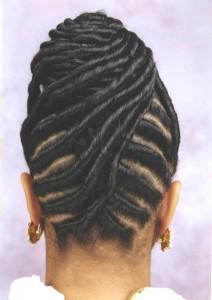 Flat Twist Hairstyle