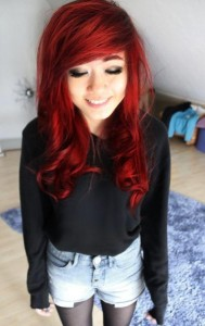 Hairstyles In Red