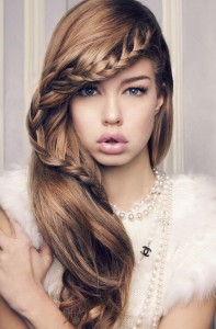 Half Up Half Down Hairstyles With Braids
