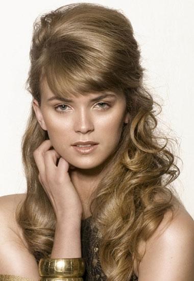 Half Updo Hairstyles Beautiful