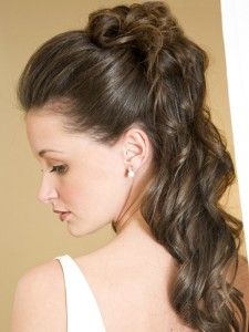 Half Updo Hairstyles For Prom