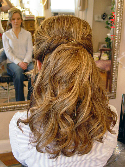 Feed Pictures - Hair With Prom Wedding Half Updo Wedding Updo Hairstyles Zimbio