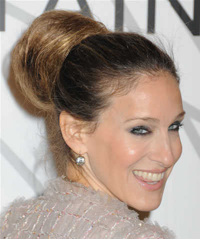 Wonderful  Are Some Pretty Bun Hairstyles That Look Great At Any Holiday Party