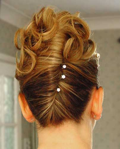 How To Do Wedding Hairstyles French Twist Bridal Hairstyles A French Twist Hairstyle