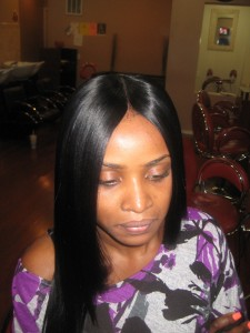 Invisible Part Sew In Weave Hairstyles For Black Women