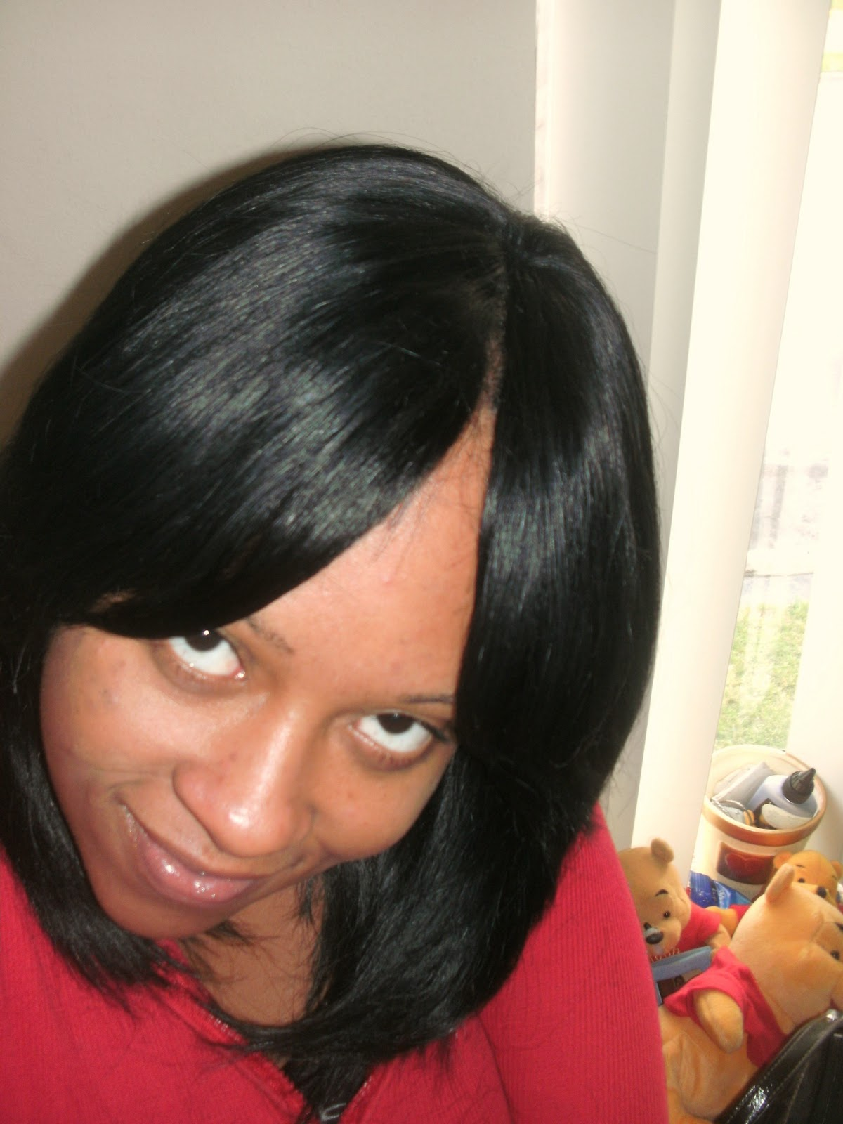 Invisible Part Sew In Weave Hairstyles Photos