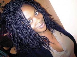 Kinky Twists Hairstyles For Black Women