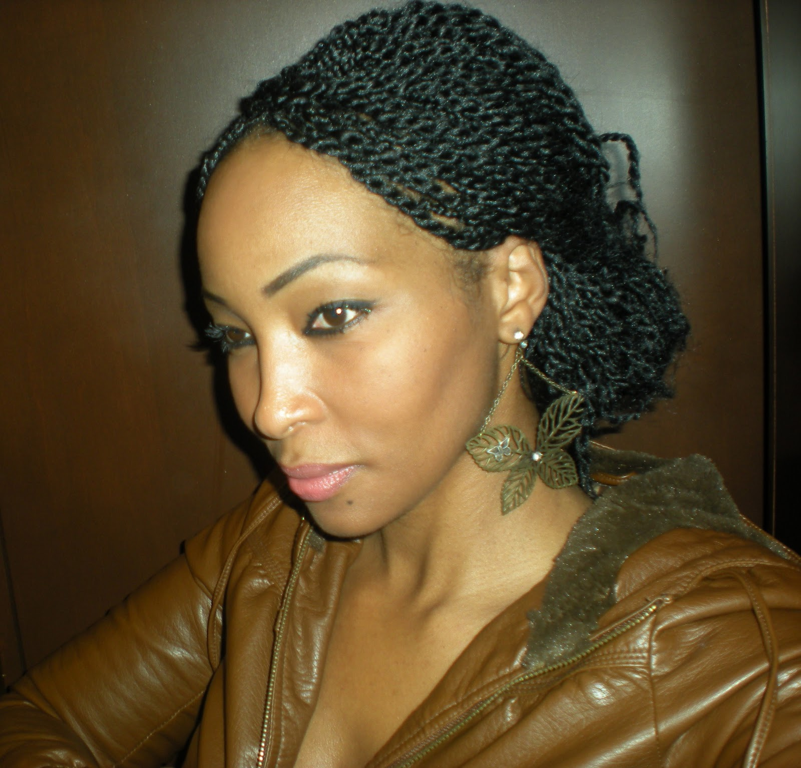 Kinky Twist Hair Hairstyles