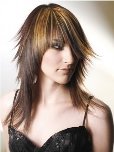 Long Choppy Layered Hairstyles