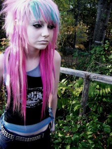 Long Punk Hairstyle
