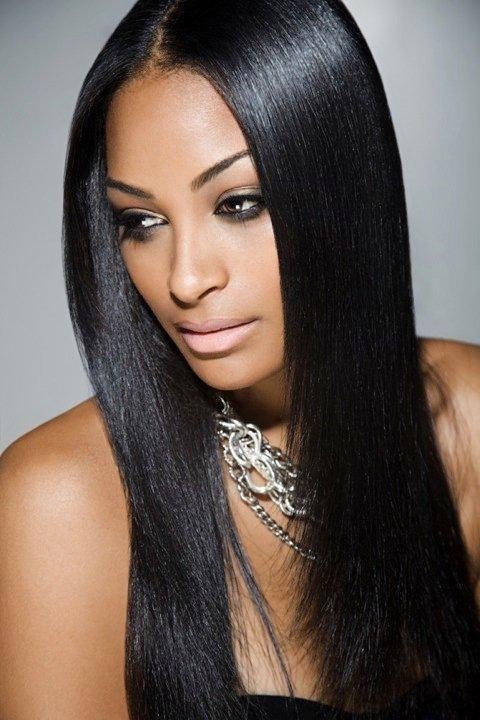 Long Straight Hair Weave
