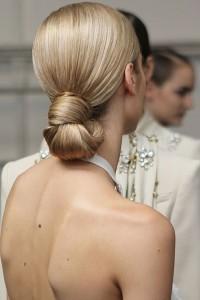 Low Bun Hairstyles For Weddings