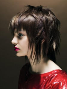 Medium Choppy Hairstyles With Bangs