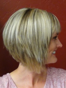 Medium Stacked Bob Hairstyles